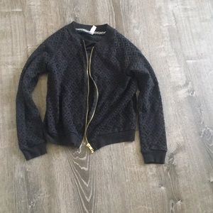 Jacket sweater